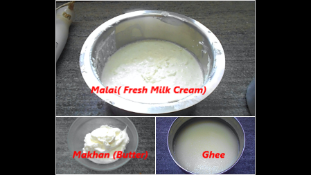 How To Make Butter & Ghee From Malai (Fresh Cream) At Home