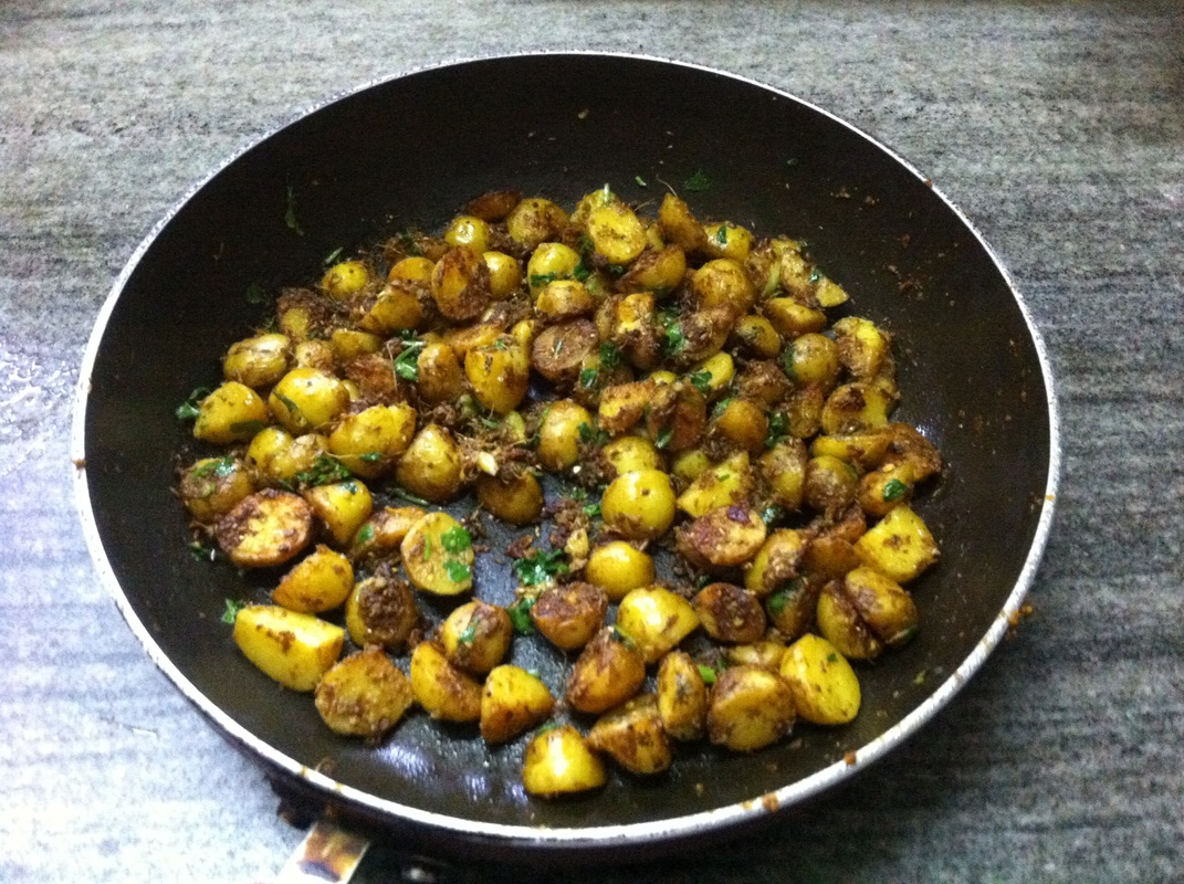 Baby Potatoes Vegetable Recipe