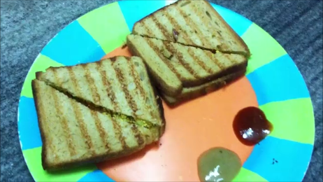 Grilled Paneer Sandwiches